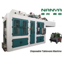 China Automatic Biodegradable Bagasse Pulp Molding Equipment / Plate Making Machine wholesale