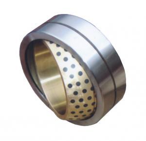 China Self-lubrication spherical plain bearing for bronze inner ring wholesale