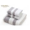 China Zero Twist Terry Spa Bath Towels / Airplane Hotel Bathroom Towels wholesale