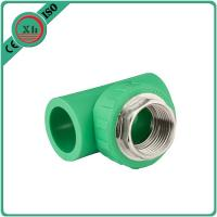 China Polypropylene PPR Female Threaded Tee 16 - 32 MM Size Corrosion Resistant wholesale