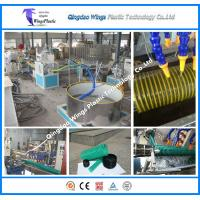 China PVC Spiral Hose Pipe Extruder Machine / PVC Suction Pipe Making Machine wholesale