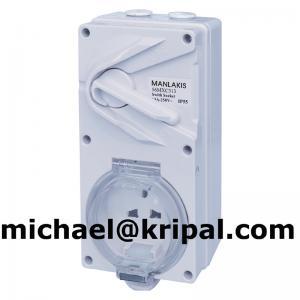 China Waterproof 13A switch socket on sale