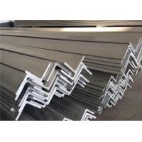 China Pickled Surface 316 316L Metal Angle Bar , 6m 5.8m Structural Steel Angle Bar wholesale