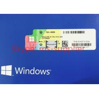 China OEM Package Windows 7 Pro Pack 1 DVD & Key Code COA License , Windows 7 Software wholesale