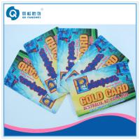 China PVC Plastic Business Card Printing , Full Color PVC Membership Card wholesale