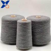China Grey bulky Nm26/2plies 30% carbon inside staple fiber blended with 70% bulky acrylic staple fiber-XT11815 wholesale