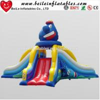 China Funny clown big inflatable water slide and used inflatable water slide for sale wholesale