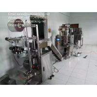 stainless pillow tea/coffee/filter bag/sachet filling packing machine of automatic