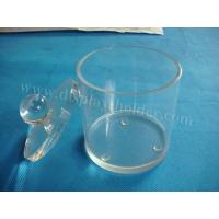 China Acrylic Food Containers in Round Shape wholesale