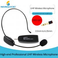 Buy cheap UHF Universal Digital Over the Head with Noise Cancelling Microphone and from wholesalers