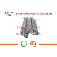 China FeCrAl / Nichrome Precision Alloy Resistance Spiral / Spring Accostomized Size wholesale