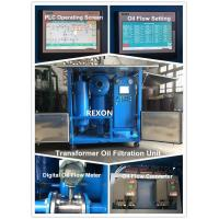 China Weather Proof Type High Capacity Vacuum Transformer Oil Purifier Machine 18000Liters/Hour wholesale