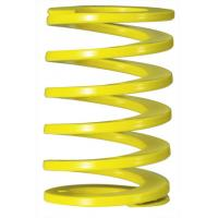 Quality Yellow Rectangle Coil Injection Mould Spring , Industrial Overload Coil Springs for sale