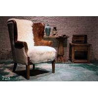 China antique imitation fur chair sofa furniture,#728 wholesale