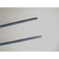 China Class 4.8 DIN 975 M18 Zinc Plated Carbon Steel Threaded Rod wholesale