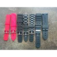 China PVC Rubber Waterproof Sport Wrist Watch Band Strap fit Casio g-shock watch wholesale