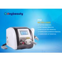 China Portable Q Switched Nd Yag Laser Tattoo Removal Machine Color Touch Screen CE Approved wholesale