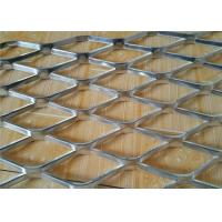 China High Rigidity Diamond Hole Standard Expanded Metal Mesh for Petroleum wholesale