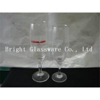 China Clear glass champagne cup, wine goblet glass for party wholesale