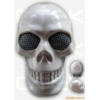 China Audio 2W Skull Rechargeable Mini Speakers For Halloween Gift wholesale