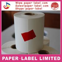 China Commercial thermal adhesive printing paper packaging labels wholesale