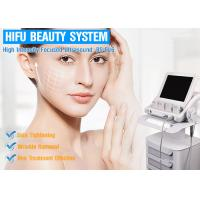 China CE Approved HIFU Beauty Machine For Face Lifting Skin Tightening Machine For Remove Fine Lines wholesale