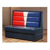 China PU Leather Cover Corner Booth Seating Mixed Color OEM ODM Service wholesale