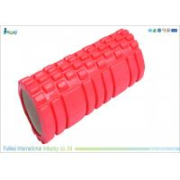 China Hollow Red High Density Eva Foam Roll For Yoga  33 * 14cm Size wholesale