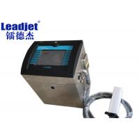 China Different Leadjet Continuous Inkjet Printer / Egg Inkjet Printer With Different Micron Nozzles on sale