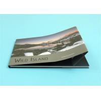 China Custom Hardcover Photo Books with A4 Landscape Size ,  Professional Hardcover Book wholesale
