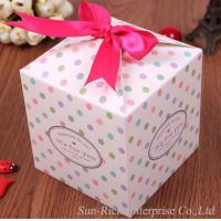 China Wholesale Valentine's day gift box with pink Ribbon on sale