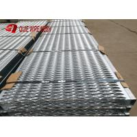 Buy cheap 2mm Round Hole Grip Strut Galvanized Steel Grating For Stair Platform EN from wholesalers