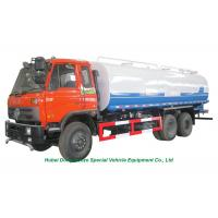 China 22000L Stainless Steel Clean Drinking Water Truck With  Water  Pump Sprinkler For Water Delivery and Spray LHD/RHD wholesale