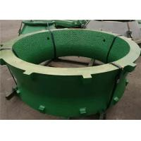 China Manganese Steel Castings Cone Crusher Spare Parts Concave And Mantle With Tic Insert wholesale