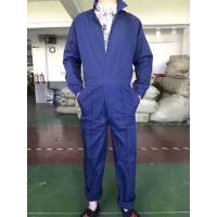 China men's full sleeve jumpsuit work wear short sleeve working clothes boilersuit S to XXXL blue color Stock commodities wholesale