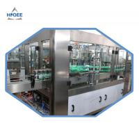 China 2000kg Carbonated Drink Filling Machine For Aluminum Cans 18 Filling Head wholesale