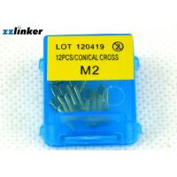China Hygienic Dental Implant Cover Screw In Teeth Procedure S1 S2 Type 12pcs/Pack wholesale