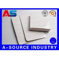China Glossy White Paper Box For 10 IU Injection Amps Vials For Human Growth Bodybuilding wholesale