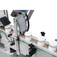 China Full - Automatic Oval Bottle Labelling Machine Precise Localization Long Life wholesale