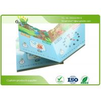 China Case bound binding Art Paper Environmental Ink Printing Board Books for Babies / Children wholesale