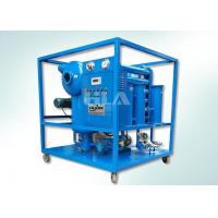 China Double Stages Insulating Transformer Oil Purification Machine With Leybold Pumps wholesale
