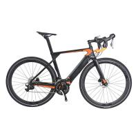 China High Durability Electric City Bike , Electric Road Bicycle With 7 Speed Shimano Gear System on sale