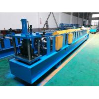 China Seamless Half Round Gutter Roll Forming Machine With Side Panel Structure wholesale