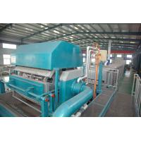 China Waste Paper Egg Tray Pulp Molding Machine , Paper Egg Tray Pulp Molding Machine wholesale