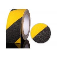 China Non Slip Safety Grip Tape for Stairs Steps Abrasive Tape Black And Yellow wholesale