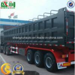 China Best Selling Price Shandong Shengrun Manufacturer Dump Truck Semi Trailer, Dumper Tipper Semi Trailer, Tipping Trailer wholesale