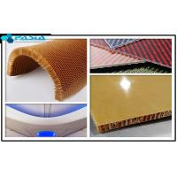 China Plain Weave Pattern Kevlar Honeycomb Sheets For Airplane Partition Wall wholesale