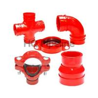 China UL FM Ductile iron grooved fittings wholesale