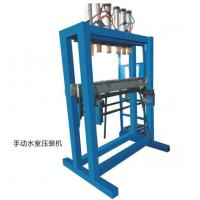 China Manual Water Tank Assembly Radiator Machine High Efficiency Easy Operated wholesale