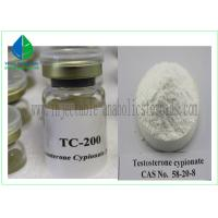 China Yellow Oily Injectable Anabolic Steroids Testosterone Cypionate 250mg / Ml wholesale